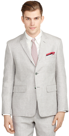 Brooks Brothers Linen and Silk Suit