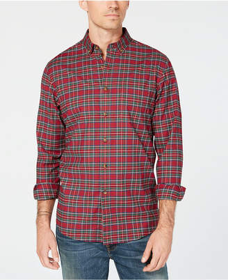 Club Room Men's Maxwell Tartan Plaid Shirt