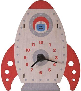 Modern Moose Rocket 3D Wall Clock
