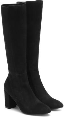 Stuart Weitzman Livia 80 suede knee-high boots