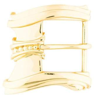 Kieselstein-Cord Gold-Plated Sterling Silver Buckle
