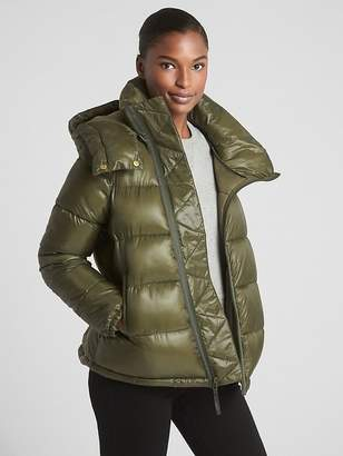Gap ColdControl High Shine Puffer Jacket