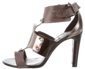 Tory Burch Leather Buckle Strap Sandals