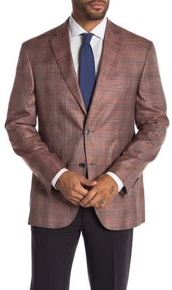 Jack Victor Conway Plaid Two Button Notch Lapel Sport Jacket