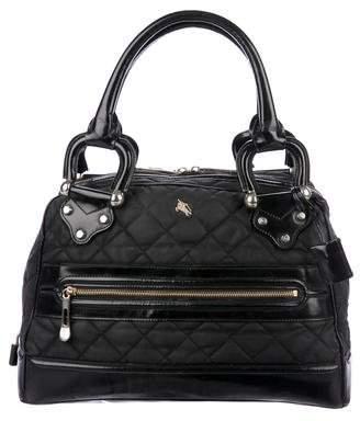 Burberry Quilted Nylon Shoulder Bag
