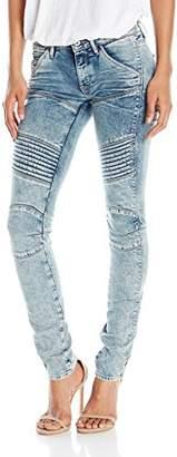 G-Star Raw Women's 5620 Custom Mid Rise Skinny Fit Jean in Tobin $190 thestylecure.com