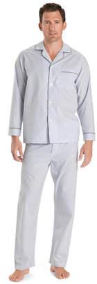 Brooks Brothers Wrinkle-Resistant Blue Stripe Pajamas
