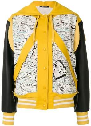 Maison Margiela panel pocket hooded bomber jacket