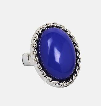 Avenue Blue Oval Stretch Ring