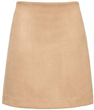 Banana Republic Vegan Suede Mini Skirt