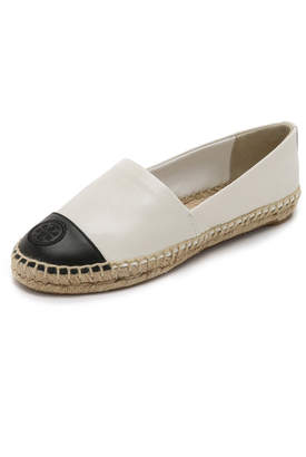 Tory Burch Colorblock Espadrilles $195 thestylecure.com
