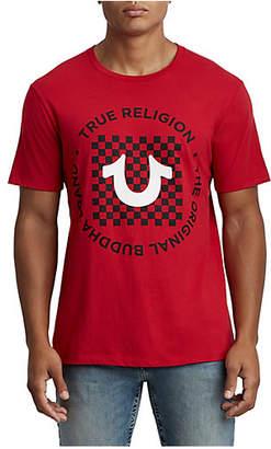 True Religion CHECKERED U CREW NECK TEE