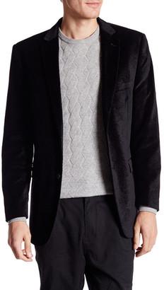 U.S. Polo Assn. Jim Black Paisley Two Button Notch Lapel Modern Fit Suit Separates Sports Coat $89.97 thestylecure.com