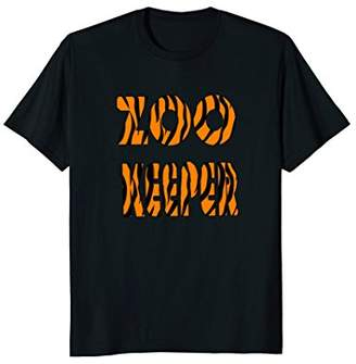 Zoo Keeper T-shirt with Tiger Stripes