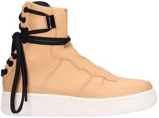 Nike Nude Leather Af1 Rebel Xl Sneakers