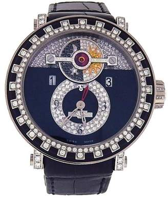 DeWitt Academia Triple Complications AC2041 18K White Gold Automatic 44mm Mens Watch