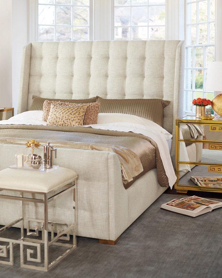 BernhardtBernhardt Continental Tufted King Bed