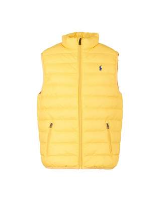 Polo Ralph Lauren Childrenswear Lightweight Packable Gilet Colour: YEL