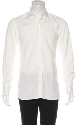Tom Ford Velvet Corduroy Dress Shirt