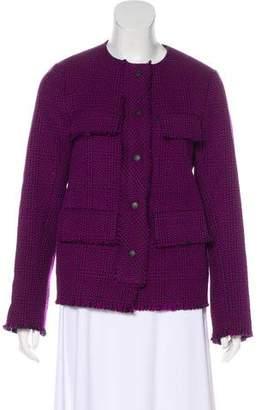 Rag & Bone Patterned Wool-Blend Jacket
