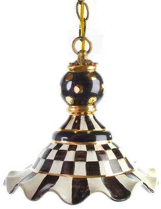 Mackenzie Childs MacKenzie-Childs Courtly Check Medium Pendant