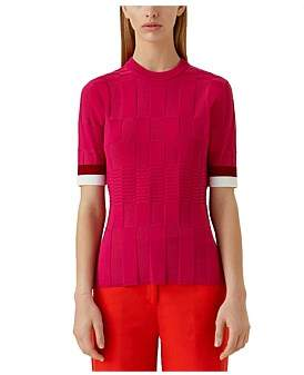 Camilla And Marc Marlowe Short Sleeve Knit