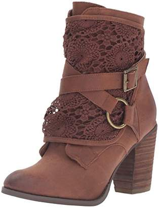 Not Rated Women's Crunch Time Ankle Bootie