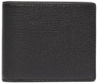 Maison Margiela Grained Leather Bi Fold Wallet - Mens - Black