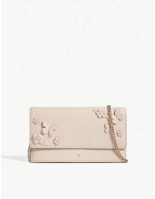 Kate Spade Layden Street Brennan leather clutch