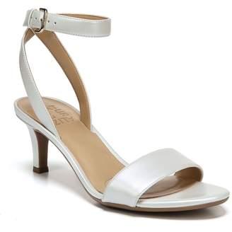 8614403a4304 Naturalizer White Heel Strap Women s Sandals - ShopStyle