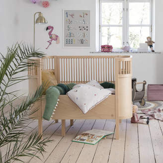 Little Ella James Wooden Baby And Junior Extendable Cot Bed