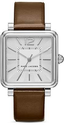MARC JACOBS Vic Leather Watch, 30mm $200 thestylecure.com