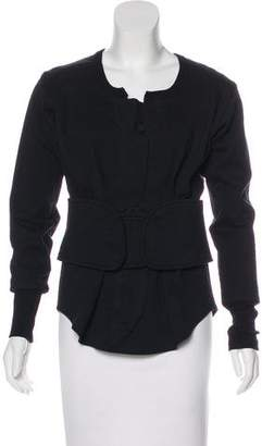 Isabel Marant Belted Structured Top
