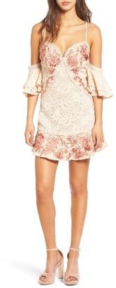 Women's For Love & Lemons Matador Lace Minidress $338 thestylecure.com