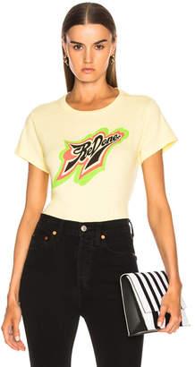 RE/DONE ORIGINALS Classic Neon Logo Tee