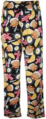 Bioworld Emoji Breakfast Cotton Lounge Pants for men