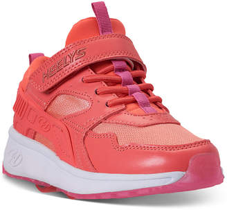 Heelys Little Girls' Force X2 Wheeled Skate Casual Sneakers from Finish Line
