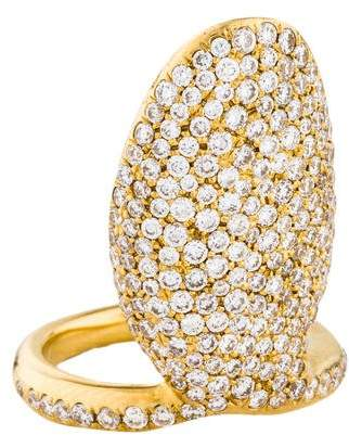 Ippolita 18K Diamond Stardust Nail Ring
