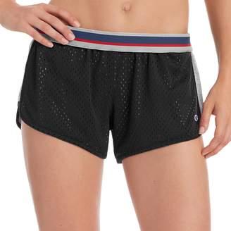 Champion Women's Reversible Mesh Jersey Shorts
