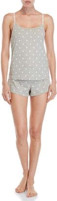 Calvin Klein Two-Piece Carousel Shelf Bra Camisole & Shorts PJ Set