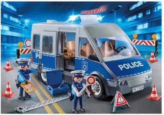 Playmobil 9236 City Action Policemen with Van Flashing Lights & Sound