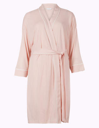 Pixi M S CollectionMarks and Spencer Bridesmaid Tie Front Wrap Dressing Gown 60ad69aa4