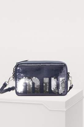 Miu Miu Sequins camera bag