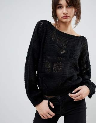 Lavand Cobweb Sweater