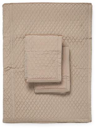 Ann Gish Taffeta Silk Coverlet Set