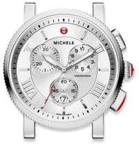 Michele Sport Sail Stainless Steel Chronograph Watch Case