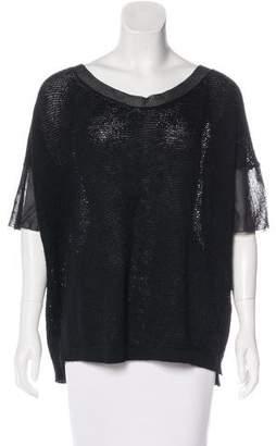 Cividini Wool & Silk-Blend Top