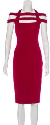 Cushnie et Ochs Cutout Midi Dress