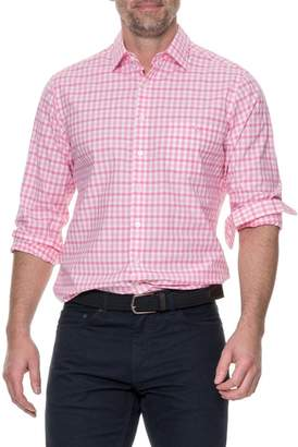 RODD AND GUNN Shorecliffe Regular Fit Gingham Sport Shirt