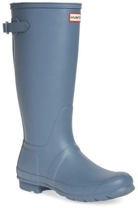 Hunter Tall Adjustable Back Waterproof Rain Boot